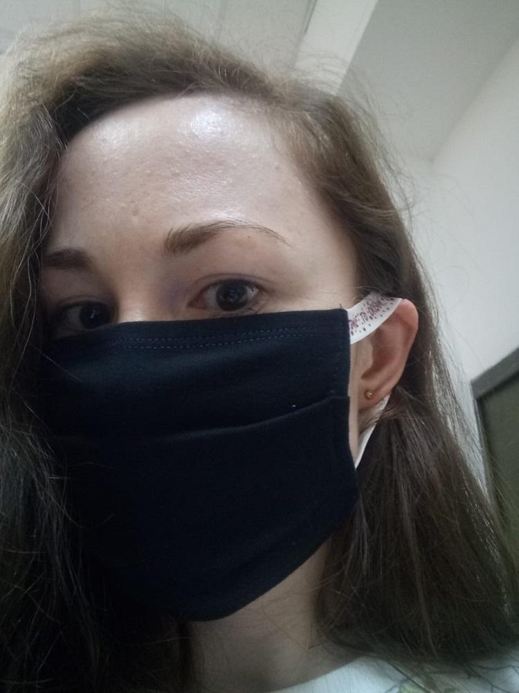 Повязка-маска ун-ная 105385г